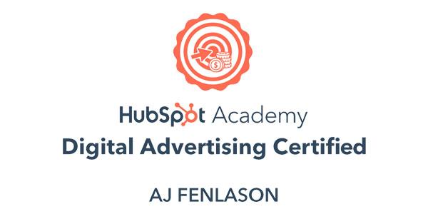 Hubspot Digital Advertising Certification