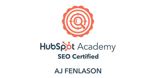 Hubspot SEO Certified