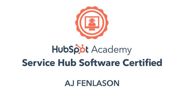 Hubspot Service Hub Software Certification